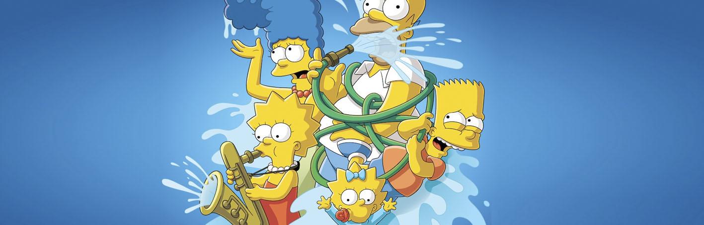 merchandising los simpson serie
