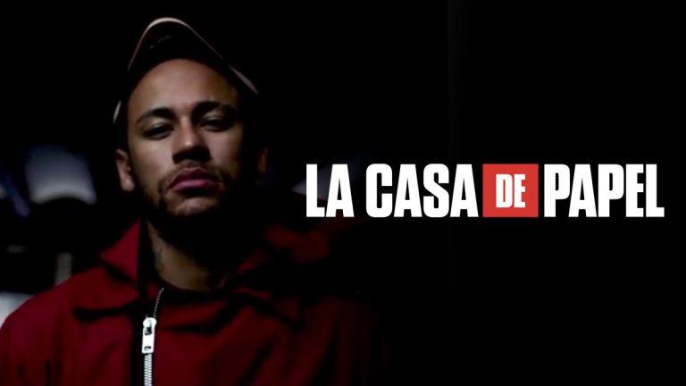 Neymar ficha por La casa de Papel de Netflix haciendo un cameo en 2 capítulos